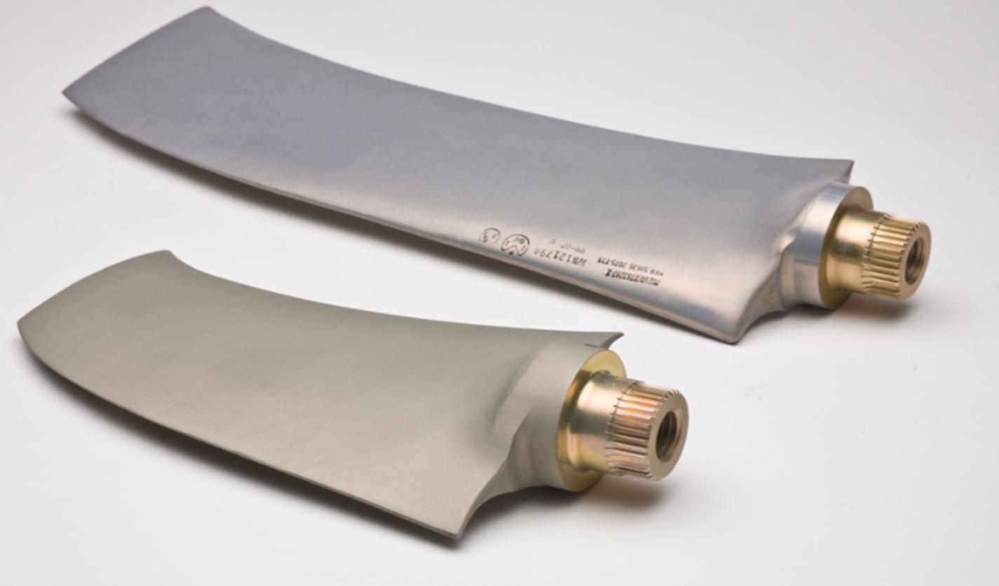 SIFCO, Orange, Aero Structural, 777 Ram Air Turbine Blades, Aluminum precision forging