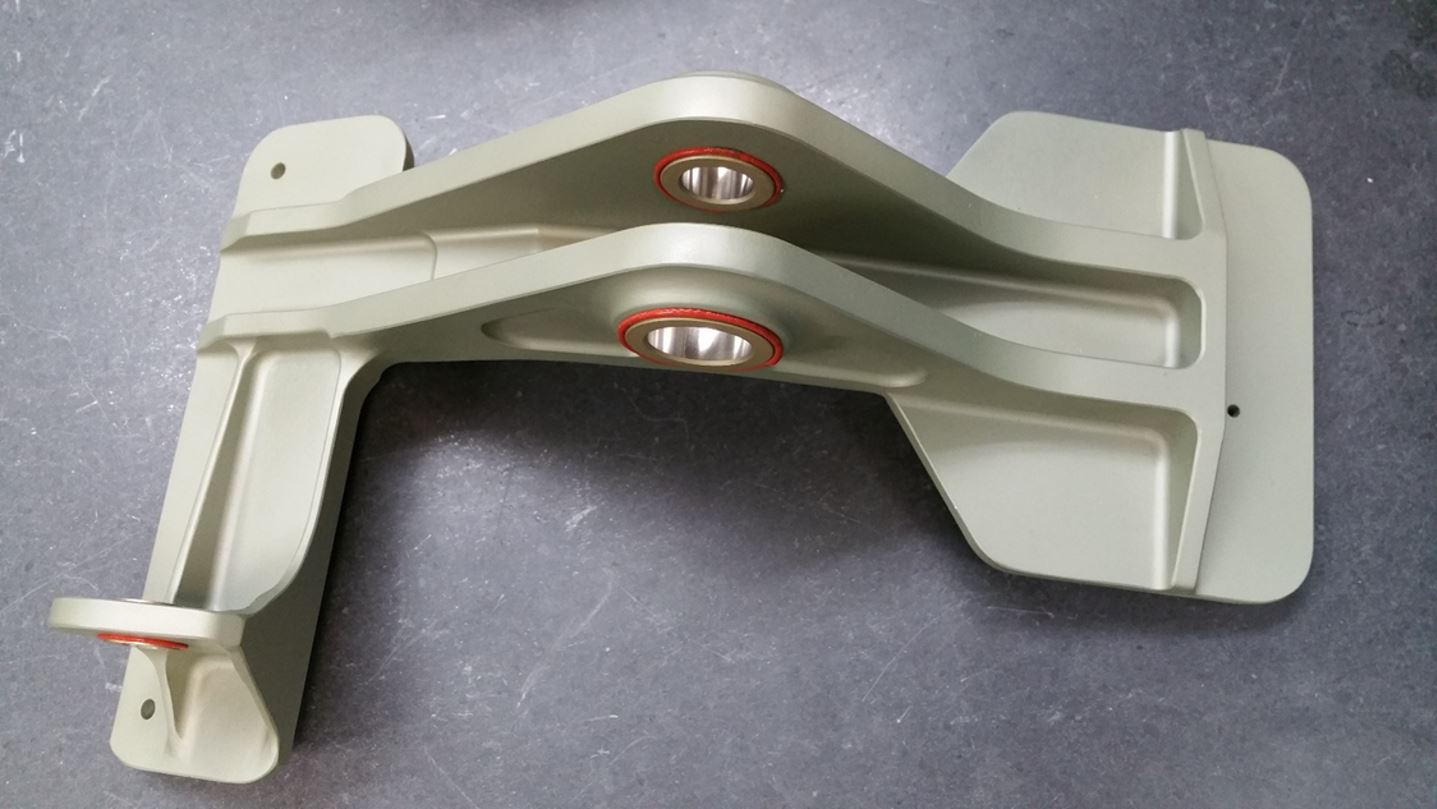 SIFCO, Orange, Aero Nacelle, 787 Nacelle, Aluminum near net shape