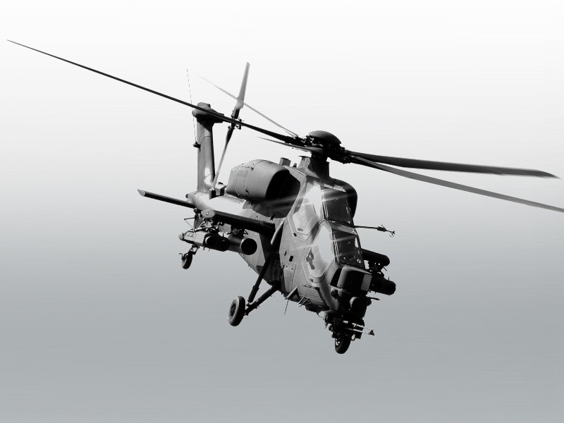 Aircraft Helicopter A-129 Mangusta