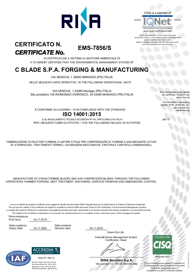 CBLADE 2019 ISO 14001_2015